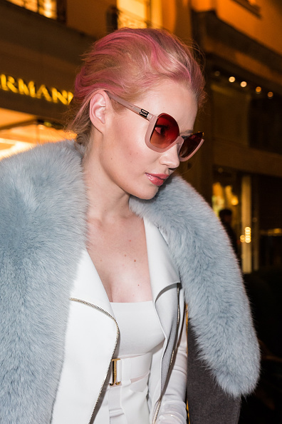 Iggy Azalea Sighting in Paris – January 27, 2016